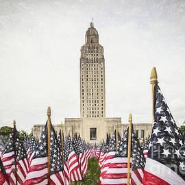 Scott Pellegrin - Patriotic Display at the Louisiana State Capitol