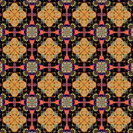 Geometric  Tile  Pattern  by Grace Iradian