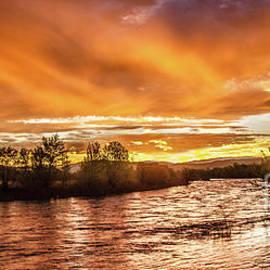 Robert Bales - Payette River Sunrise