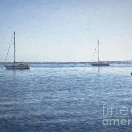 Luther Fine Art - Peaceful boats on St. John River
