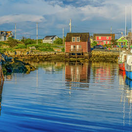 Ken Morris - Peaceful Evening at Peggys Cove