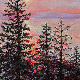 Peaceful Pines by Mary Giacomini