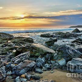 Eddie Yerkish - Peaceful Sunset at Crystal Cove