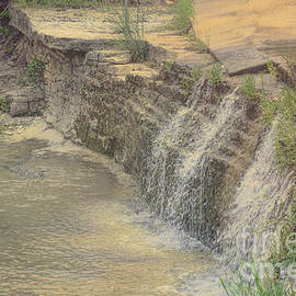 Peaceful Waterfalls by Luther Fine Art