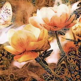 Peach Peonies by Susan Maxwell Schmidt