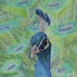 Elaine Jones - Peacock Portrait