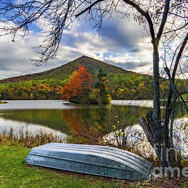 Peaks of Otter Blue Ridge Parkway Reflections by Norma Brandsberg