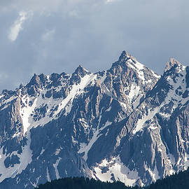 Peaks of the Font Sancte - French Alps by Paul MAURICE