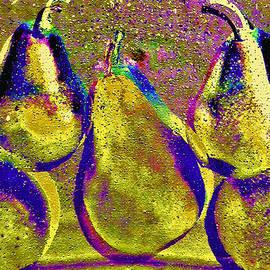Pear Gala by Claudia O'Brien