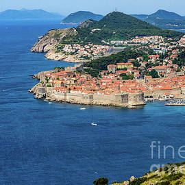 Pearl Of The Adriatic, Dubrovnik, Known As Kings Landing In Game Of Thrones, Dubrovnik, Croatia by Global Light Photography - Nicole Leffer