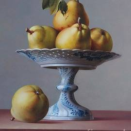 Pears and Compote by Aniko Vida