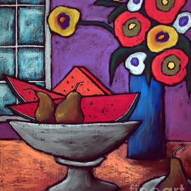 Pears and Watermelon by David Hinds