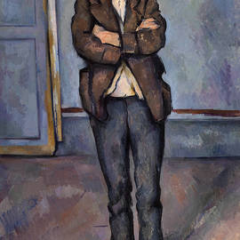 Peasant Standing with Arms Crossed - Paul Cezanne