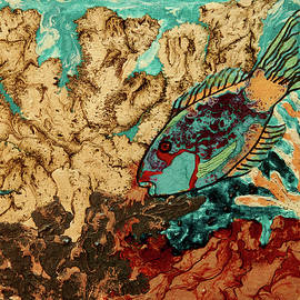 Patricia Beebe - Pebeo Parrotfish 2