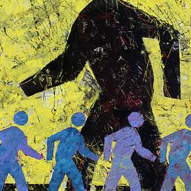 Pedestrian Crossing by John Dyess