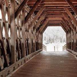 Nick Mares - Pedestrian Lattice Bridge