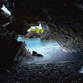 Peeking Through the Lava Tube by Susan Rissi Tregoning