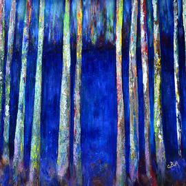 Claire Bull - Peeking Through the Trees