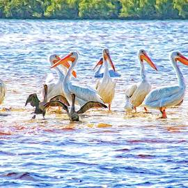 Pelican Party by Alice Gipson