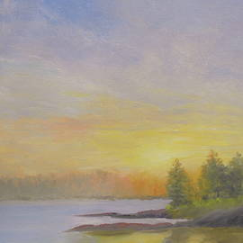 Scott W White - Pemaquid Beach Sunset