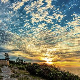David Smith - Pemaquid Point Lighthouse at Daybreak