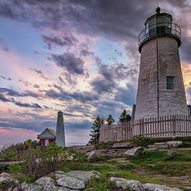 Kristen Wilkinson - Pemaquid Point Lighthouse at Sundown
