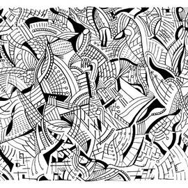 Pen And Ink 7 by Steven Natanson