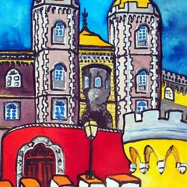 Dora Hathazi Mendes - Pena Palace in Sintra Portugal