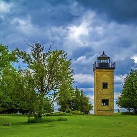 Chuck De La Rosa - Peninsula Point Lighthouse