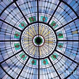 Penn Station Stained Glass Baltimore. Vision # 3 by Marcus Dagan