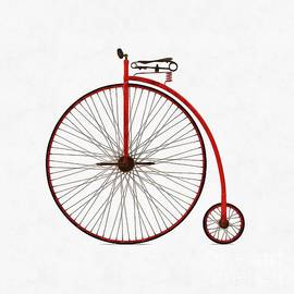 Penny Farthing Bicycle - Edward Fielding