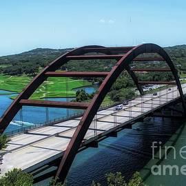 Pennybacker Bridge Austin Texas by Luther Fine Art