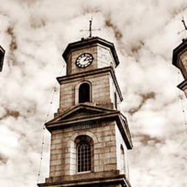 Terri Waters - Penryn Clock Tower in sepia