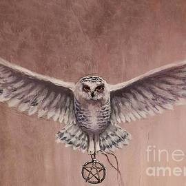 Sean Conlon - Pentacle Owl Detail