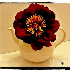 Marsha Heiken - Peony in a Tea Kettle