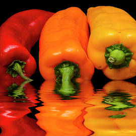 David French - Peppers Red Yellow Orange