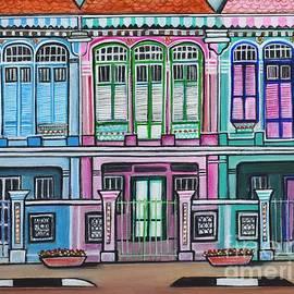 Peranakan Mansion Singapore by Manjiri Kanvinde