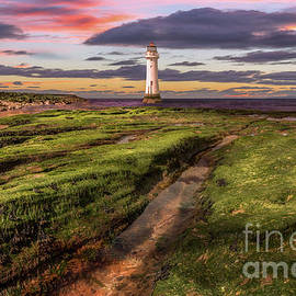 Adrian Evans - Perch Rock Lighthouse Sunset