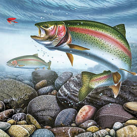 Perfect Drift Rainbow Trout by JQ Licensing
