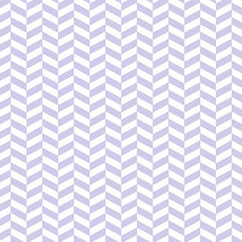 Ross - Periwinkle Purple Herringbone Design