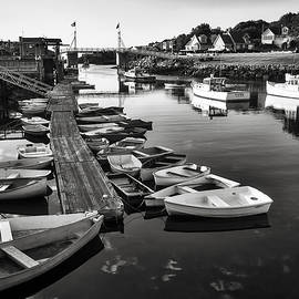 Perkins Cove Boats - Maine by Steven Ralser