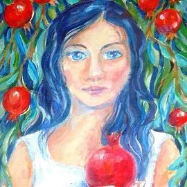 Trudi Doyle - Persephone and Pomegranates