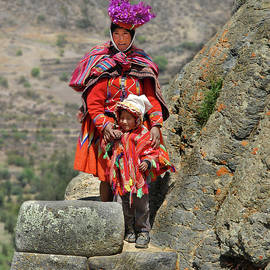 Alan Toepfer - Peruvian Mother and Child