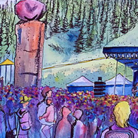 Peter Rowen At Copper Mountain by David Sockrider