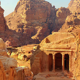 Petra Buildings, Pond and Gardens Complex by Nicola Nobile