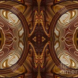 Petrified Wood Parquetry Fractal Abstract
