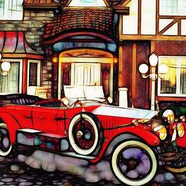 Mario Carini - Phantom Rolls Royce 1935