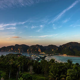 Phi Phi View Point 2 Rising Sun by Scott Cunningham