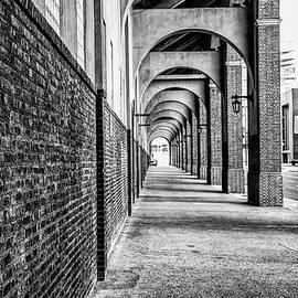 Bill Cannon - Philadelphia - Franklin Field Archway in Black and White