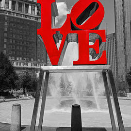Philadelphia Love Sculpture # 2 by Allen Beatty